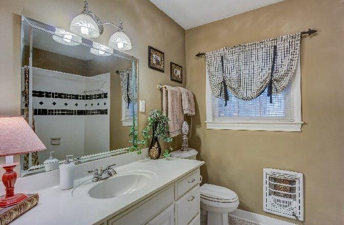 Badezimmer Spiegel Heizung