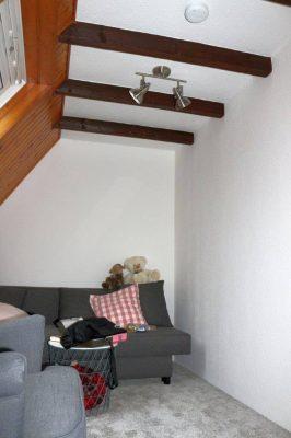 Dachboden und Infrarotheizung