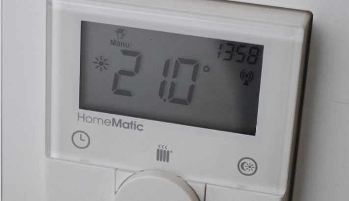 Digitales Thermostat für Infrarotheizungen