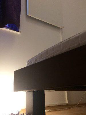 Infrarot Wandheizung im Schlafzimmer Installation