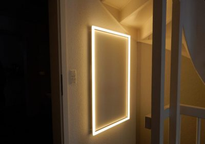 Licht für Redwell-Infrarotheizung