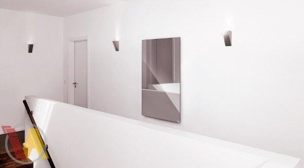 Spiegelheizung im Schlafzimmer
