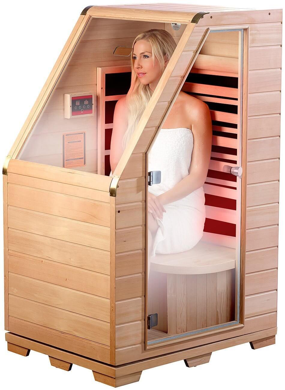 infrarotsauna guide die vorteile und nachteile. Black Bedroom Furniture Sets. Home Design Ideas